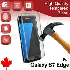 NEW *CURVED* Samsung Galaxy S7 EDGE High Quality Tempered Glass Screen Protector