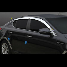 Chrome Window Vent Sun Visors Rain Guards for Kia Optima(K5)2014~2015