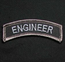 ENGINEER TAB USA ARMY VELCRO® BRAND FASTENER SWAT OPS MORALE BADGE PATCH