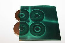 Magnetic Field Viewer Film 102 mm x 102 mm (4 in x 4 in) - Genuine 'Green film'.