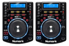(2) NUMARK NDX500 USB / CDJ MEDIA PLAYER AND SOFTWARE CONTROLLERS, Auth. Dealer