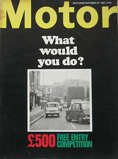 Motor magazine 10/9/1966 featuring Steyr-Puch 650 TR road test, Triumph, Lotus