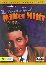 THE SECRET LIFE OF WALTER MITTY (1947 Danny Kaye)  DVD - UK Compatible - Sealed
