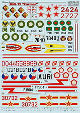 "Print Scale 72-115 Decal for Mig-19 "" Farmer"" 1:72"