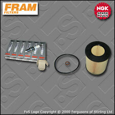 SERVICE KIT BMW 3 SERIES 328I E46 FRAM OIL FILTER NGK SPARK PLUGS (1998-2000)