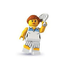 Lego Minifigures Series 3 TENNIS PLAYER - New Out of Package!