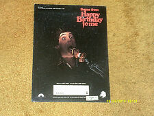 Syreeta Wright sheet music THEME from HAPPY BIRTHDAY TO ME from film '81 4 pp.