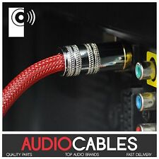 5m PRO MASTER TOSLink CABLE (Digital Fibre Optic Audio Cable) TcR2 THATS AUDIO