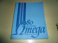 1980 Oldsmobile Omega Service Manual - Vintage