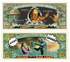 Creature From The Black Lagoon Million Dollar Bill
