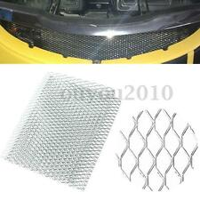 "40""x13"" Universal Aluminum Car Vehicle Body Grille Net Mesh Grill Section Silver"