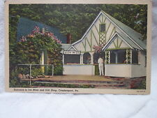 Coudersport Pa Penn, Entrane to Mine & Gift shop, early postcard