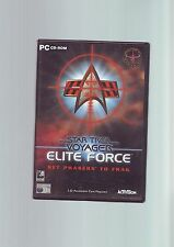 STAR TREK VOYAGER ELITE FORCE 1 - FPS SHOOTER PC GAME - FAST POST - COMPLETE VGC