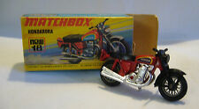 Matchbox  Superfast-  MB 18 Hondarora - Made in England  OVP