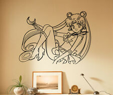 Sailor Moon Wall Decal Vinyl Sticker Japanese manga Removable Art Decor 76(nse)