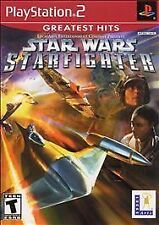 Star Wars Starfighter PS2 Playstation 2 Game Complete Nice