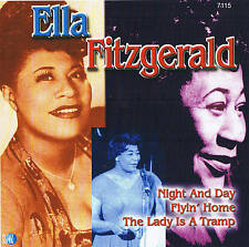 "ELLA FITZGERALD ""Night And Day"" CD 18 Tracks NEU & OVP Planet 2001"