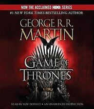 Game of Thrones by George R R Martin (CD-Audio)
