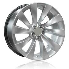 "19"" VW SCIROCCO TURBINE ALLOY WHEELS AND TYRES HYPER SILVER FINISH 5X112"