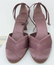 Clarks Ladies Evening Special Occasion Shoes in Pink Soft Satin Fabric UK Size 5