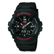 Men's Casio G-Shock black resin watch G-100-1BVMES