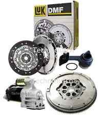 FORD MONDEO 115 TDCI 5 SPEED LUK DUAL MASS FLYWHEEL, STARTER, CLUTCH KIT AND CSC