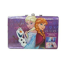 Disney Frozen Beauty Cosmetic Box for Kids Girls Gift Set 30 Lip Gloss & 2 brush