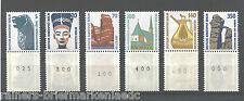 Berlin SWK Rollenmarken Sehenswürdigkeiten postfrisch 6 x Dreierstreifen 831 R..