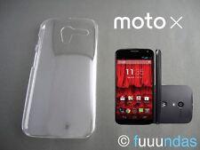 """Funda Carcasa dura Transparente para Motorola Moto X 2013 (4,7"""") - La más fina!"""