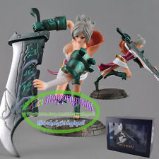 LOL League of Legends Blades of Exile Ruiwen Riven Figure Figurine in box Gift