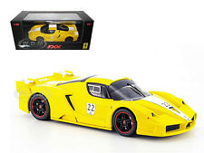 FERRARI ENZO FXX ELITE YELL #22 LTD 1/43 DIECAST MODEL CAR BY HOTWHEELS N5612