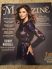 UK TIMES MAGAZINE 10/2016 TRINNY WOODALL PHOTO COVER INTERVIEW DANNY MACASKILL