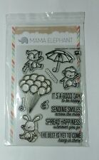 MAMA ELEPHANT UP AND AWAY CLEAR STAMP SET