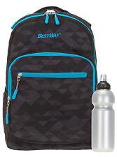 2er SET BESTWAY Beatbox FLUID Rucksack Schulrucksack Bag BROWNIE 0104 + Flasche