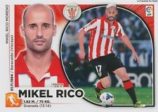 N°11 MIKEL RICO # ESPANA ATHLETIC CLUB STICKER CROMO PANINI LIGA 2015