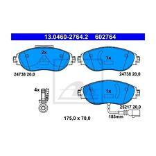 ATE 602764 Bremsbelagsatz, Scheibenbremse  13.0460-2764.2  Vorne