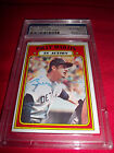 Billy Martin signed baseball card auto 1972 Topps PSA DNA authentic Tiger Yankee