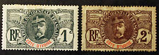 Timbre COTE D'IVOIRE / IVORY COAST Stamp - Yvert & Tellier n°21 et 22 n* (COT1)