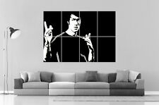 BRUCE LEE KUNG FU  Wall Art Poster Grand format A0 Large Print