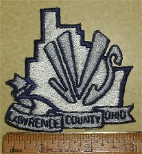 JVS LAWRENCE COUNTY OHIO JACKET PATCH