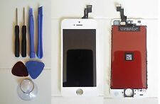 Reino Unido Repuesto Pantalla Lcd Y Digitalizador Touch Screen Para Apple Iphone 5s Blanco