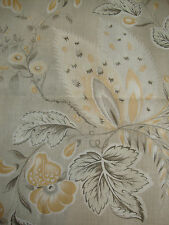 233cm SUZANNE TUCKER HOME Hatley 100% linen curtain fabric remnant