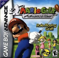Mario Golf Advance Tour - Game Boy Advance