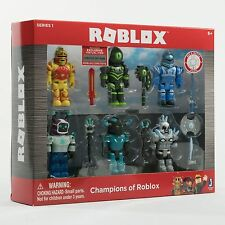2017 Roblox Series 1 Champions of Roblox 6 Figure Pack With Exclusive Item Code