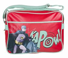 Messenger Bag - Retro Batman Sports Bag - 1966 Red Kapow