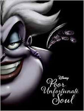 Disney Villains: Poor Unfortunate Soul Novel, New, Serena Valentino Book