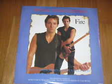 "12"" BRUCE SPRINGSTEEN UK edition FIRE FOR YOU BORN TO RUN NO SURRENDER 10th"