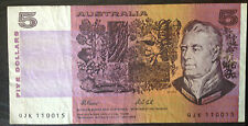 Big Old Australian Banknote A$5  - Extra Fine details!