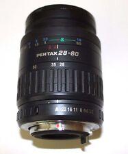 Pentax SMC FA 28-80mm f3.5-5.6 AF Camera Lens