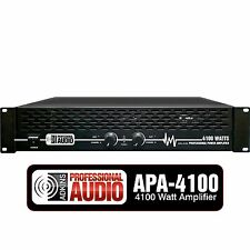 4100 Watt Professional DJ Power Amplifier - Adkins Pro Audio - Quality Audio
